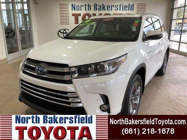 Certified Pre-Owned 2018 Toyota Highlander Hybrid LTD