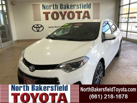 Certified Pre-Owned 2016 Toyota Corolla S